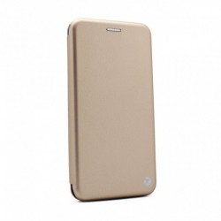 Futrola za Xiaomi Redmi Note 9 5G/9T preklop bez magneta bez prozora Teracell flip - zlatna