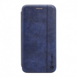 Futrola za Xiaomi Mi 11 preklop bez magneta bez prozora Teracell Leather - plava
