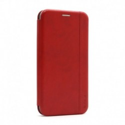 Futrola za iPhone 12/12 Pro preklop bez magneta bez prozora iHave gentleman - crvena