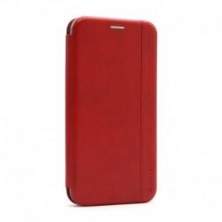 Futrola za iPhone 12 Pro Max preklop bez magneta bez prozora iHave gentleman - crvena