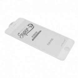 Zaštitno staklo za iPhone 6/6s (zakrivljeno 11D) pun lepak Super D - bela