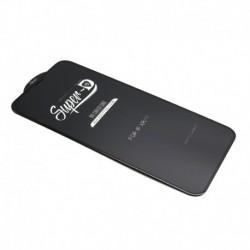 Zaštitno staklo za iPhone XR/11 (zakrivljeno 11D) pun lepak Super D - crna