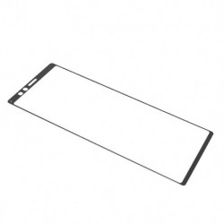 Zaštitno staklo za Sony Xperia 1/XZ4 (zakrivljeno 3D) - crna