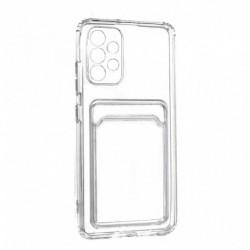 Futrola za Samsung Galaxy A32/4G leđa Card silikon - providna