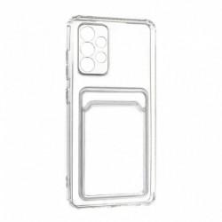 Futrola za Samsung Galaxy A52/4G/5G leđa Card silikon - providna