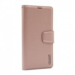 Futrola za Nokia 3.4 preklop sa magnetom bez prozora Hanman - svetlo roza
