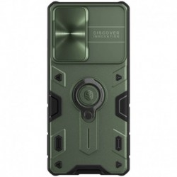 Futrola za Samsung Galaxy S21 Ultra 5G leđa Nillkin Cam shield armor - zelena