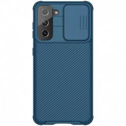 Futrola za Samsung Galaxy S21 5G leđa Nillkin Cam shield pro - plava