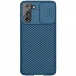 Futrola za Samsung Galaxy S21 Plus 5G leđa Nillkin Cam shield pro - plava