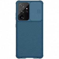 Futrola za Samsung Galaxy S21 Ultra 5G leđa Nillkin Cam shield pro - plava