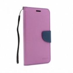 Futrola za Motorola Moto E7 preklop sa magnetom bez prozora Mercury - ljubičasta