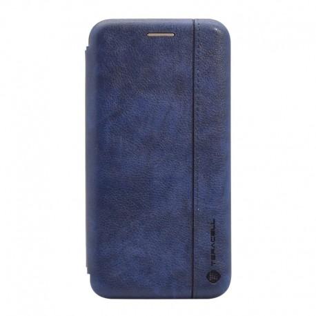 Futrola za Samsung Galaxy A03s preklop bez magneta bez prozora Teracell Leather - plava