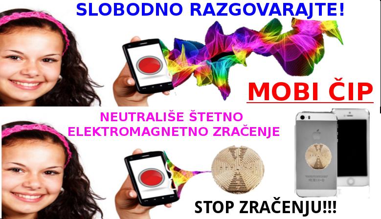 Mobičip - Neutralizator štetnog elektromagnetnog zračenja