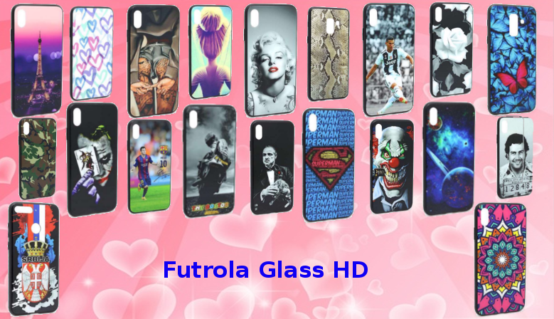 Futrola leđa Glass HD - više modela